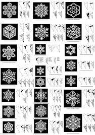 snowflake patterns celeste snowflake pattern