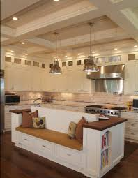 kitchen island with bench seating kenangorgun com