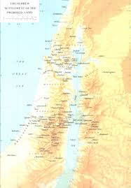 Map Of Israel Map Of Israel