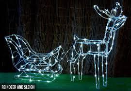 solar led lights reindeer grabone nz