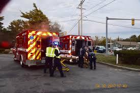 osterville crash sends three to hospitals