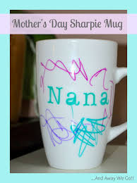 mothers day homemade sharpie mug gift idea page 2 of 2 the