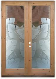 Glass Insert Doors Interior Decorative Glass Doors Sans Soucie Art Glass