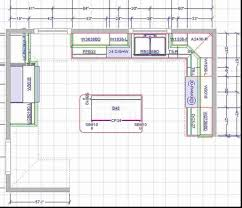 kitchen floor plans free kitchen fancy u shaped kitchen with island floor plans shape