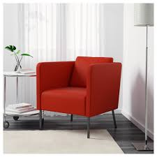 2 Person Armchair Ekerö Armchair Skiftebo Orange Ikea