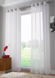 Plain White Curtains Plain Voile Curtains Functionalities Net