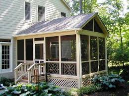 deck turned into screened porch stun build a to let the outside in