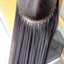 pre bonded hair extensions reviews microbead hair extensions the and of it review pics
