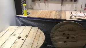 touret bois deco que faire d u0027une bobine en bois youtube