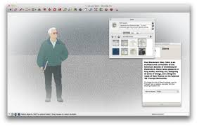 sketchup 2015 opening screen honors architectural illustrator