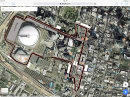Street Map Of New Orleans by New Orleans Street Circuit Racetrackdesigns