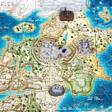 Interactive Westeros Map 4d Cityscape Mini Game Of Thrones Westeros Time Puzzle 350 Piece