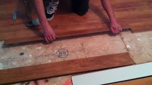 Laminate Floor Steps How To Install Laminate Flooring On Plywood Subfloor Youtube