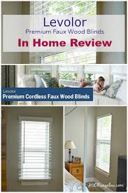 Shortening Faux Wood Blinds Levolor Cordless Faux Wood Blind Review
