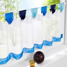Kitchen Curtains Blue by Popular Kitchen Curtains Blue Buy Cheap Kitchen Curtains Blue Lots