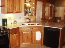 Kitchen Sink Lighting Ideas Decoration Modern Kitchen With Corner Kitchen Sink And Unique