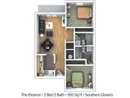 2 bedroom apartment floor plans u0026 pricing u2013 southern downs