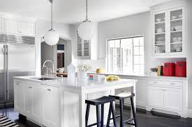 gray kitchen with white cabinets white and gray kitchen design transitional kitchen burnham design
