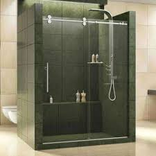 Bathroom Shower Doors Home Depot Home Depot Tub Shower Door Sliding Trackless Tub Shower Door Home