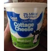 Calories In Lowfat Cottage Cheese by Low Fat Cottage Cheese Nutrition Nutrition Daily