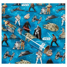 wars wrapping paper wars roll wrap asda groceries