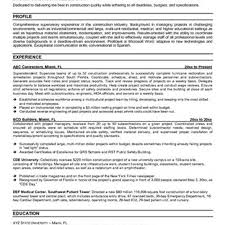superintendent resume cv hse supervisor in english risk