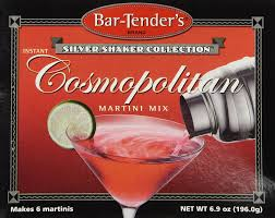 martini cosmo amazon com bar tenders instant cosmopolitan martini cocktail mix