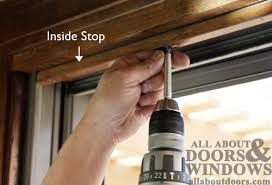 How To Install Sliding Patio Doors How To Replace The Rollers In An Andersen Gliding Door