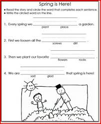 reading and writing worksheets for 1st grade kristal project