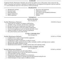 Diesel Technician Resume Mechanic Resume Examples Diesel Mechanic Resume Example Sample