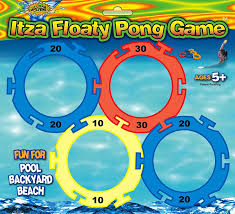 amazon com water sports itza floaty pong backyard and pool game