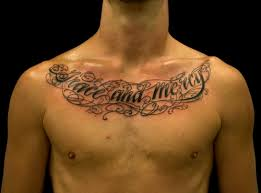 cool chest ideas for mens chest tattoos