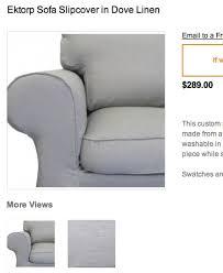 ikea slipcovered sofa 44 best white ektorp sofa heaven images on pinterest living room