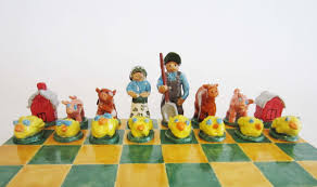 art for small hands clay chess set