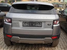 land rover range rover evoque 4 door tokunbo 2012 land rover range rover evoque prestige 4 door price
