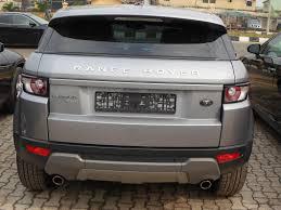 range rover evoque back tokunbo 2012 land rover range rover evoque prestige 4 door price