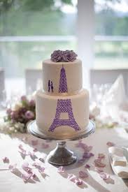 wedding cake lavender eiffel tower wedding cake in lavender stock photo image 43865701