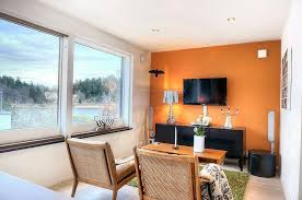 orange livingroom bright small living room with alluring orange living room design