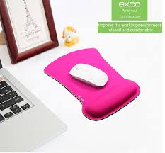 Comfortable Mouse Pad Exco Alibaba China Neoprene Wrist Support Ergonomic Mouse Pad