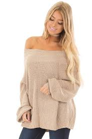 oversized shoulder sweater oatmeal sleeve the shoulder oversized sweater lime lush