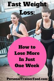 fast weight loss steps to lose weight in a week lost weight