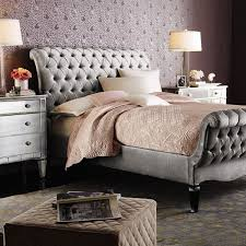 Tufted Sleigh Bed King 25 Ways To Rethink Your Bed From Pinterest King Size Bedrooms