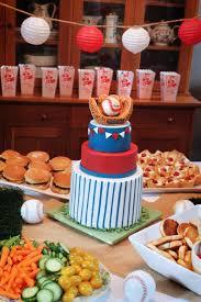 baseball baby shower a baseball baby shower cake a baker in