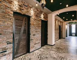 exposed brick office spaces