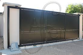 portail pour maison pas cher portail maison coulissant portail coulissant avec portillon