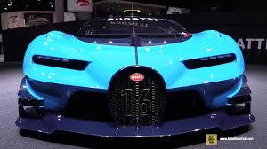 concept bugatti bugatti veyron gran turismo vision concept exterior walkaround