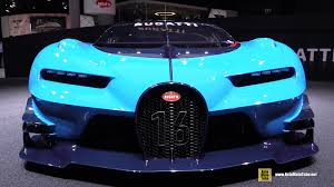 bugatti concept car bugatti veyron gran turismo vision concept exterior walkaround