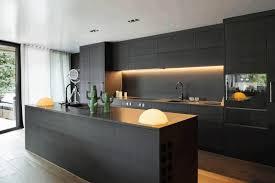 Matte Appliances Rustic Wooden Kitchen Cabinet Smooth Wooden Flooring Black