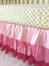 Pottery Barn Ruffle Crib Skirt Long Crib Bed Skirt Creative Ideas Of Baby Cribs