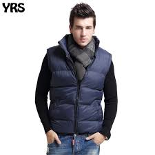 winter mens vest solid keep warm thick waistcoat no sleeve size s